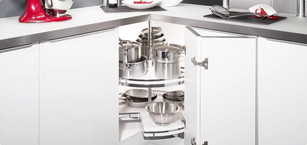 Mueble de cocina rinconero - TPC Cocinas