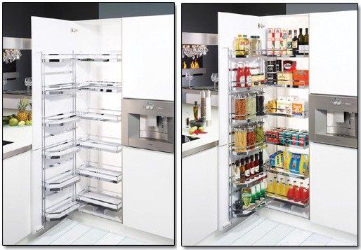 Tpc cocinas soluciones para las cocinas peque as - Mueble despensa cocina ...