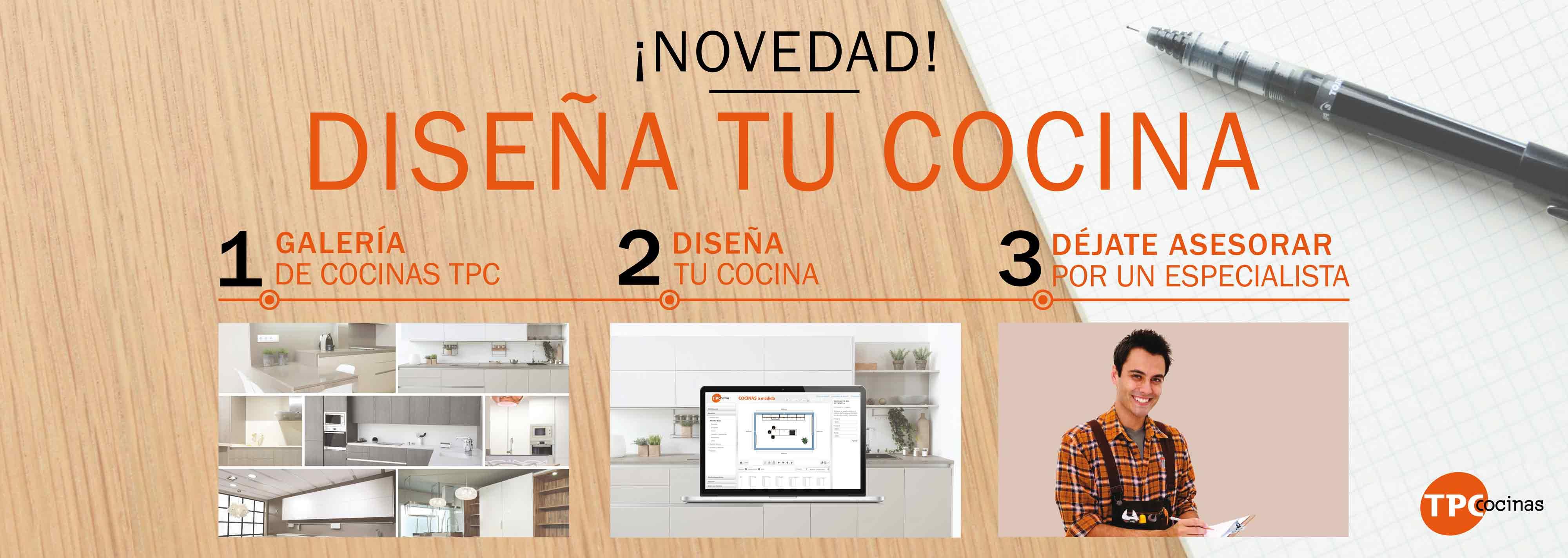 Tpc cocinas dise ador 3d for Programas para disenar cocinas en 3d