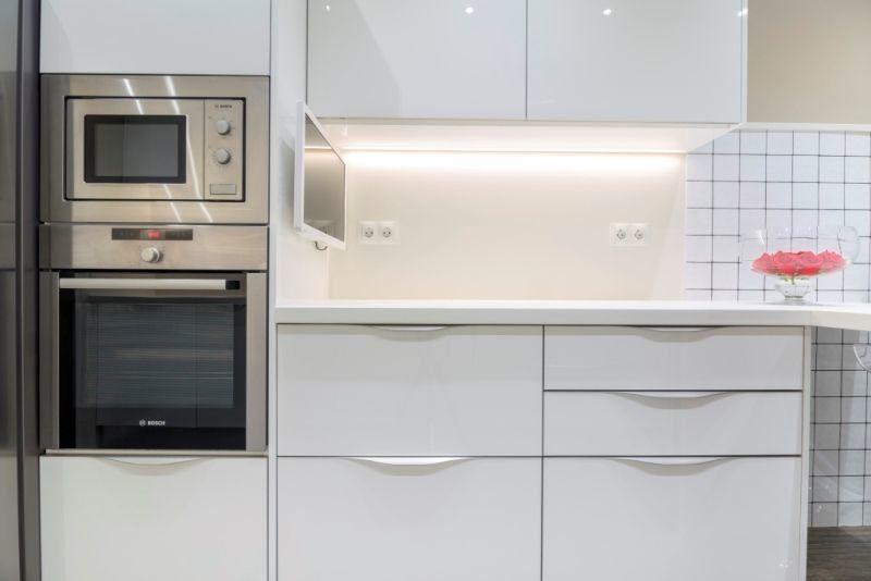 Crystal blanco brillo tpc cocinas - Cocinas blanco brillo ...