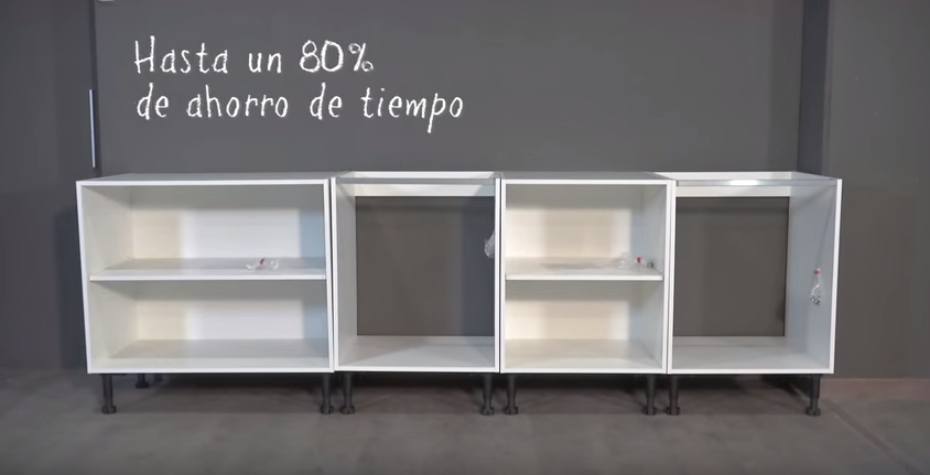de hacer un proyecto lo más eficiente es comprar muebles de cocina