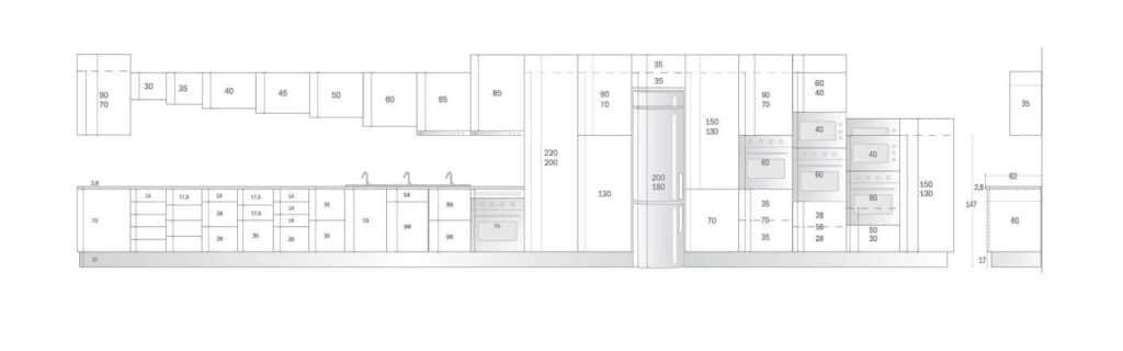 Altura muebles cocina dise os arquitect nicos - Modulos muebles cocina ...