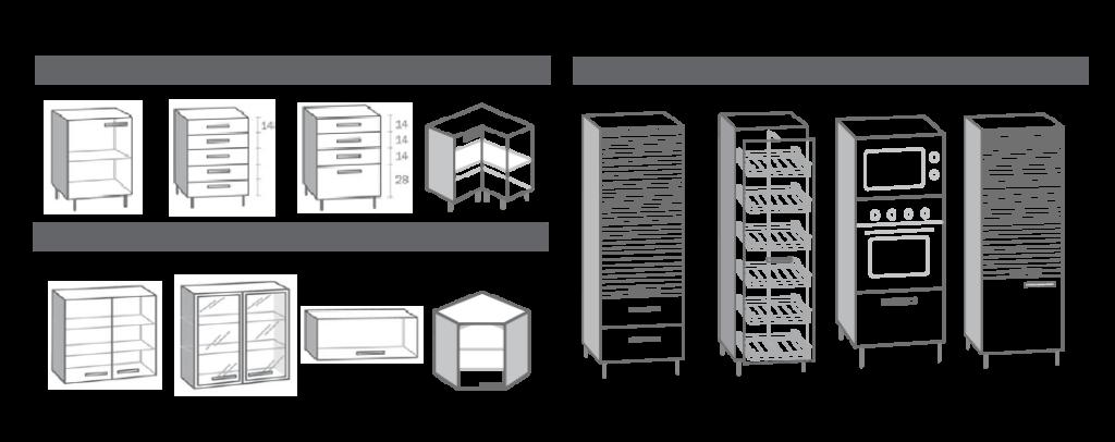 Croquis de cocinas great lo siguiente es localizar y for Comprar modulos de cocina en kit