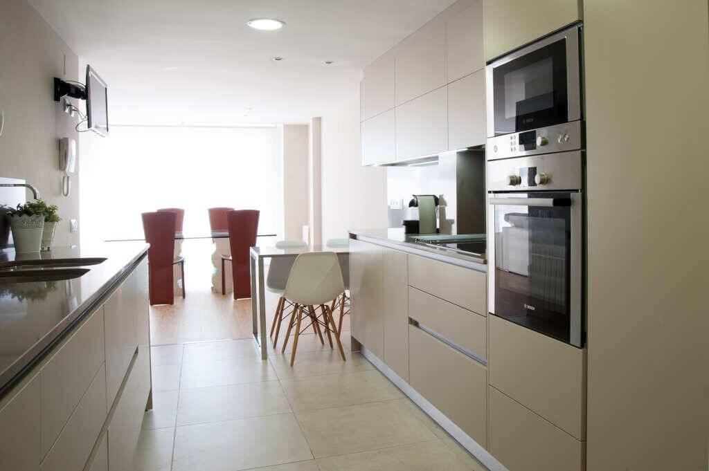 Tirador gola para muebles de cocina tpc cocinas - Pomos puertas cocina ...