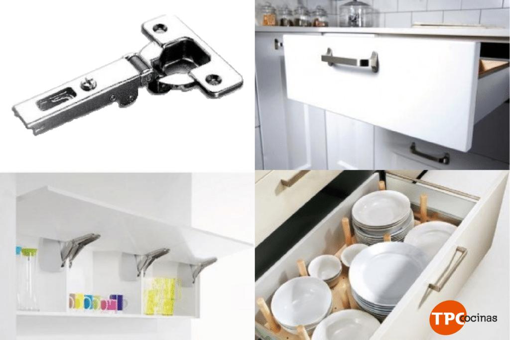 Accesorios para armar muebles de cocina for Herrajes y accesorios para muebles