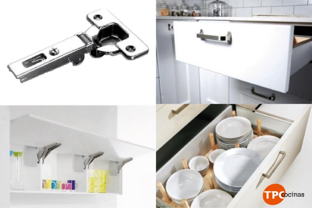 Accesorios para muebles cocina  TPC Cocinas