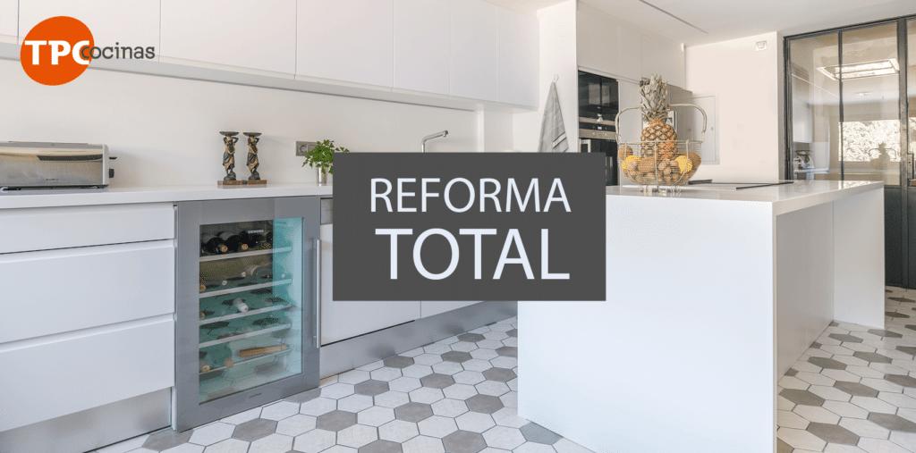 Reforma total de la cocina tpc cocinas - Reforma tu cocina ...