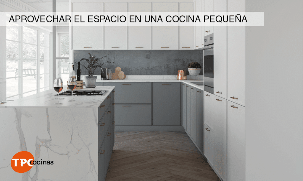 Tpc cocinas trucos para aprovechar el espacio en una - Aprovechar espacio cocina ...