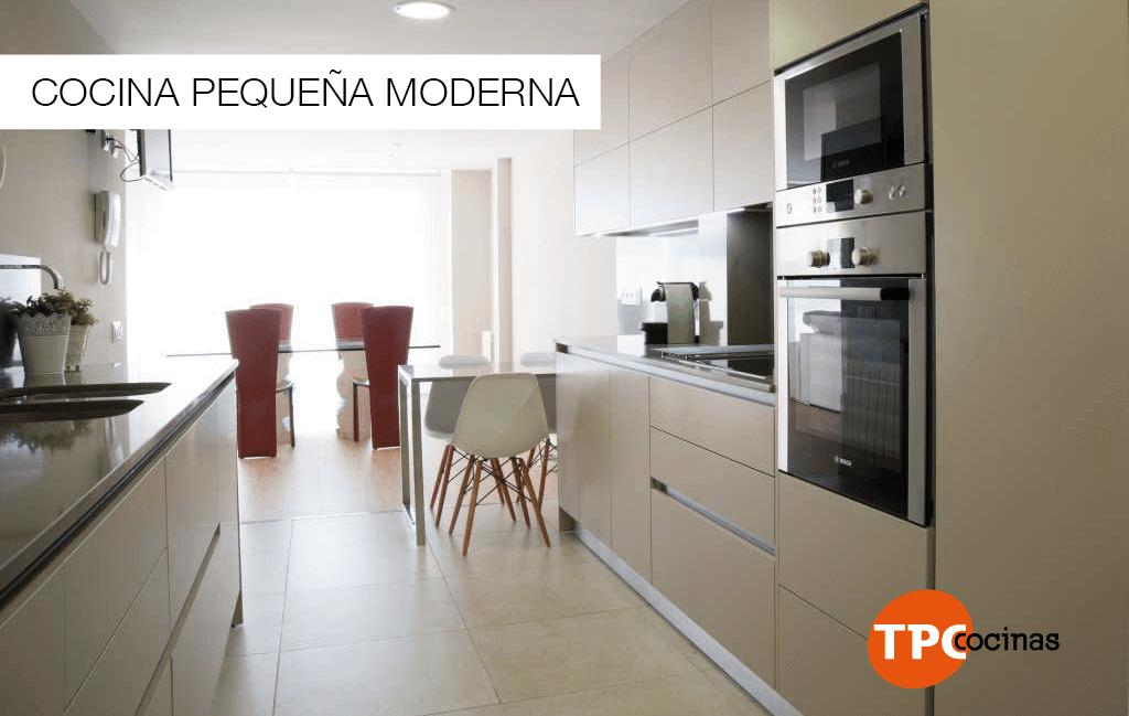 Tpc cocinas cocina peque a moderna - Cocina pequena moderna ...