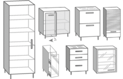 Muebles de cocina en Kit