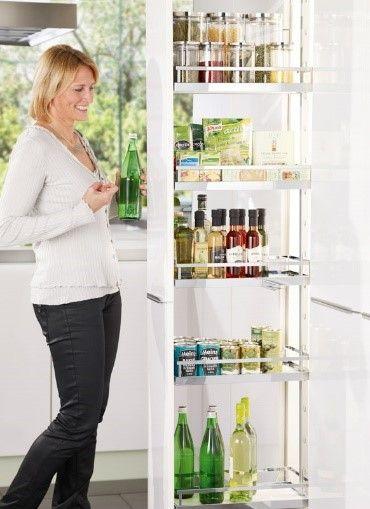 Despensa extraíble / Muebles de cocina - TPC Cocinas