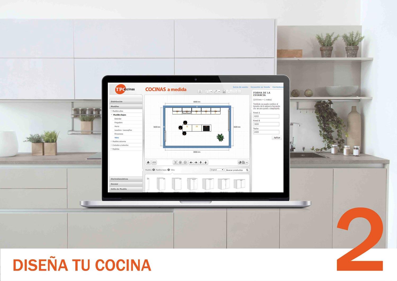 Diseñador 3D cocinas