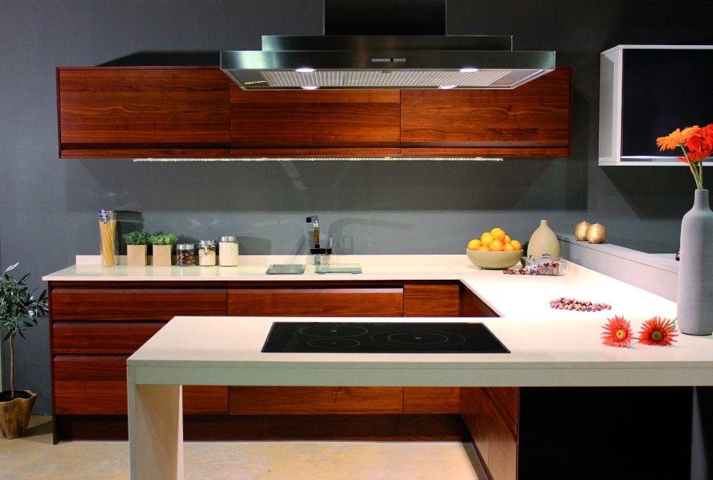 Tpc cocinas cocina americana for Barra cocina madera