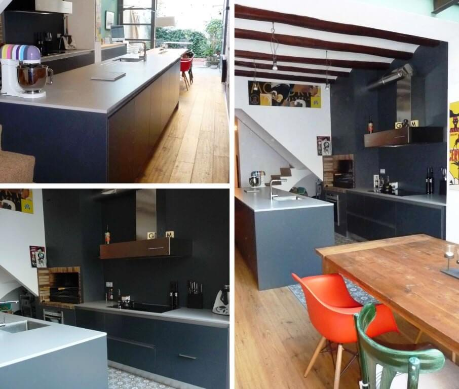 Tpc cocinas frentes de cocina - Cocinas azul tierra ...