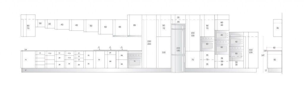muebles de cocina en kit de 70