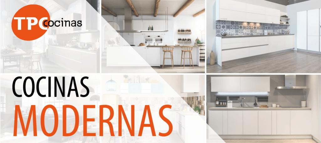 características de las cocinas modernas