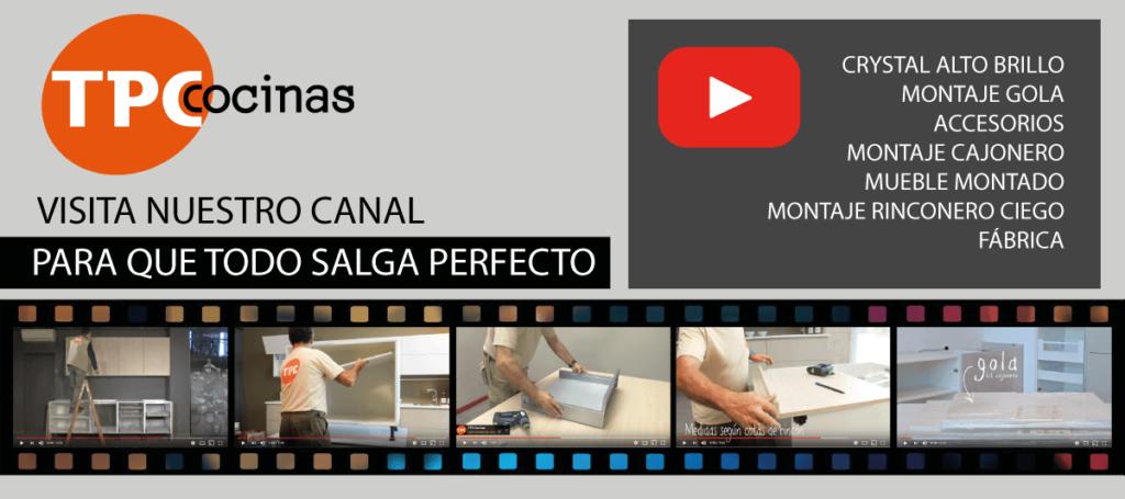 Youtube TPC Cocinas