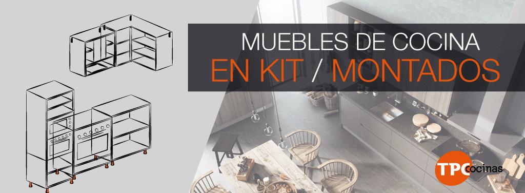 Módulos de cocina en kit - TPC Cocinas