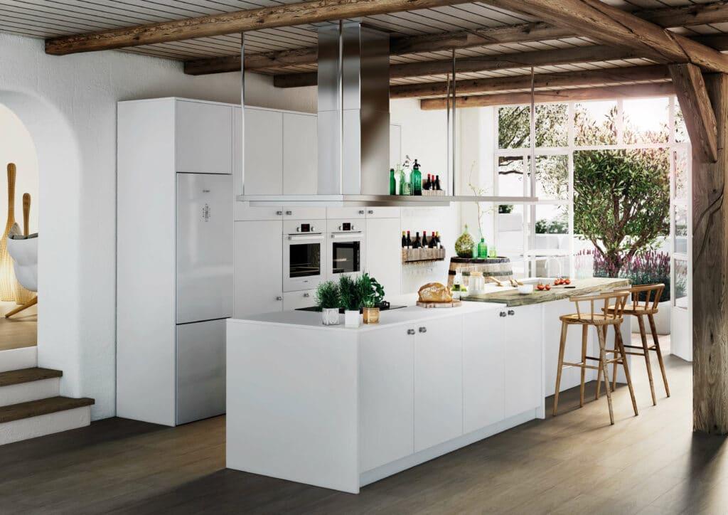 TPC Cocinas | cocinas blancas modernas