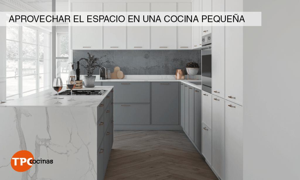 Home blog tpc trucos para aprovechar el espacio en una for Como aprovechar una cocina pequena