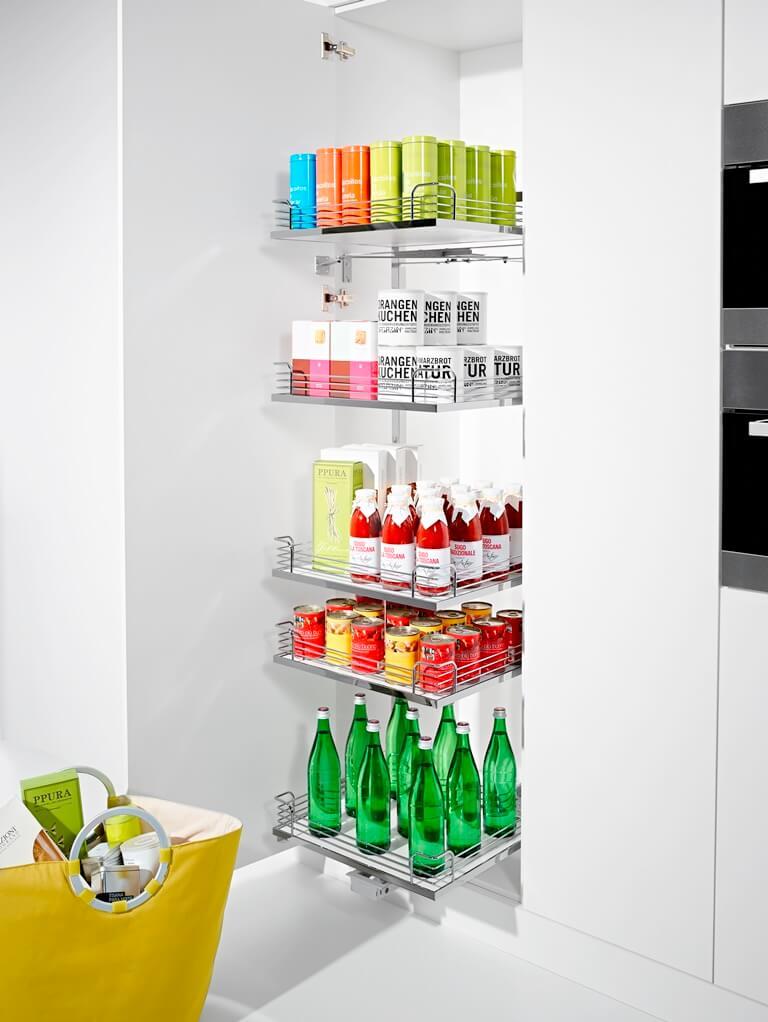 Columnas for Aprovechar espacio cocina pequena