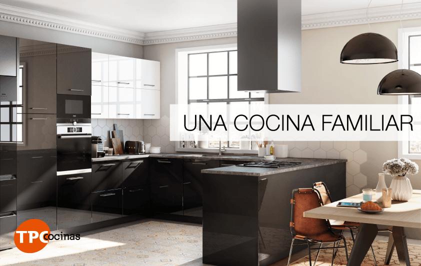 Tpc cocinas una cocina familiar for Cocina familiar