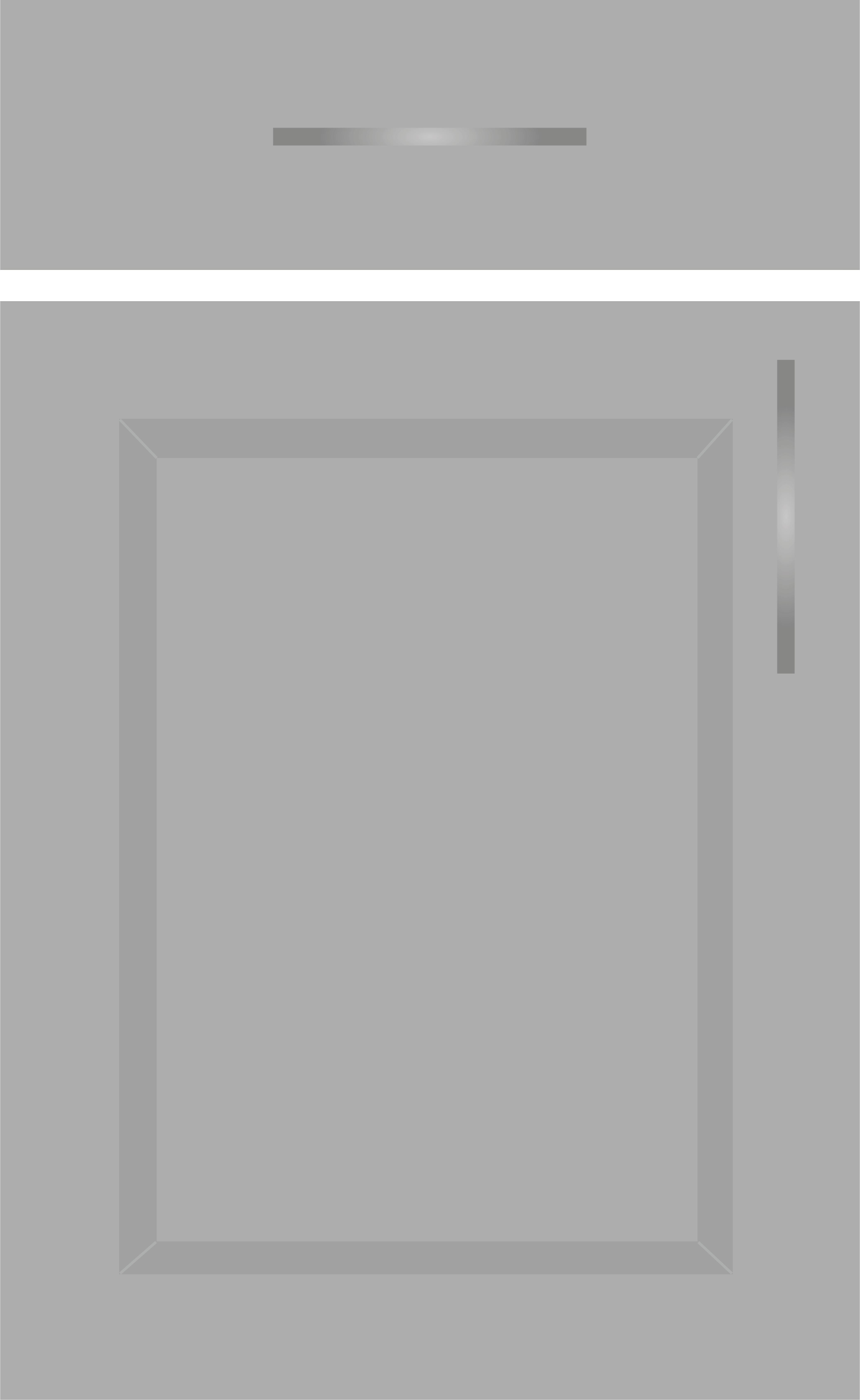 frente puerta gris